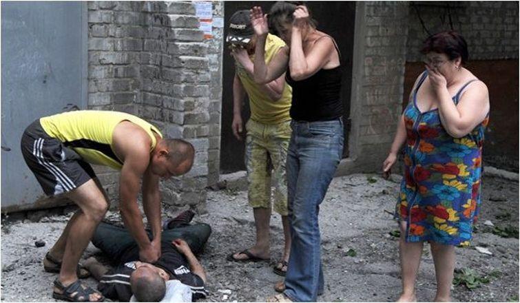 Ukrayna'da kanlı operasyon