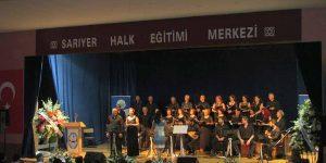 Sarıyer Halk Eğitim Merkezinden Türkü Gecesi.