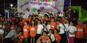 Sarıyer Halk Evleri Çocuk Şenliği yapıldı.