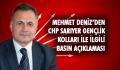 Mehmet Deniz'den Gençlik Kolları ile ilgili basın açıklaması