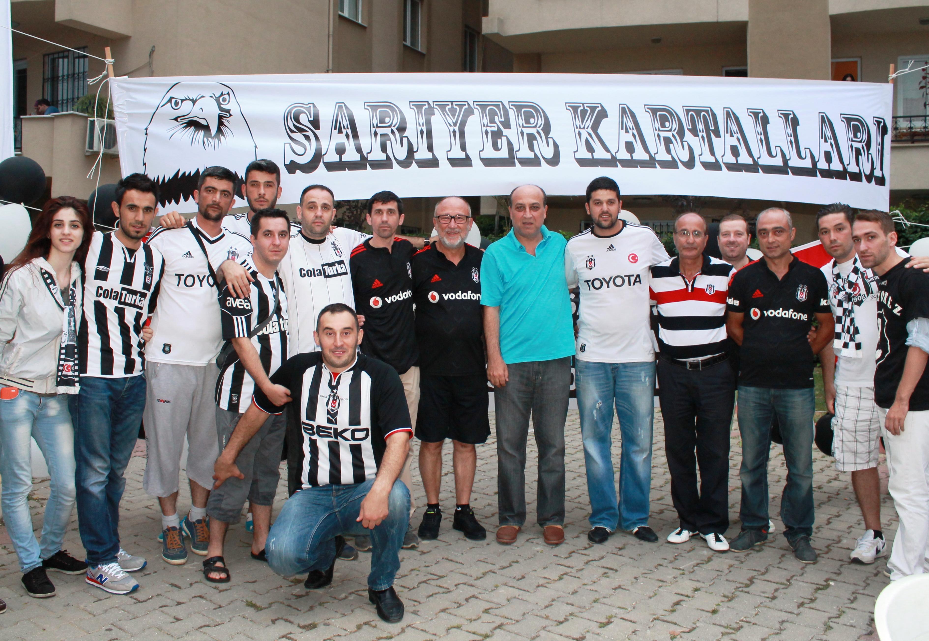 Beşiktaş'lılar Sarıyer'de dernekleşti!