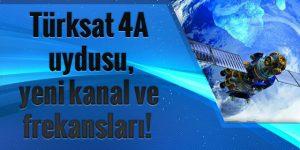 Türksat 4A Frekansları ve uydu ayarlama. VİDEO