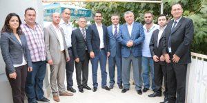 Sarıyer Belediyesinden Partilere Barış Günü Ziyaretleri.