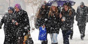 Yarın Marmara'da kar bekleniyor.