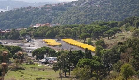 Sarıyer kurban satış ve kesim alanı hazır.