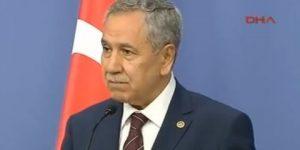 Arınç: Öcalan'ın talebi haksız değil