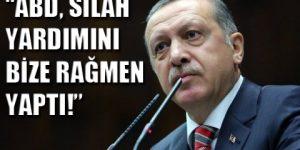 Erdoğan: Silah yardımını biz istemedik.