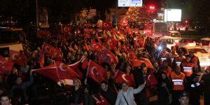 Sarıyer'de Görkemli Cumhuriyet Yürüyüşü!