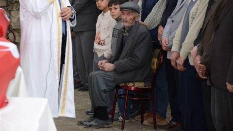 Madenci babasının yürek burkan görüntüsü