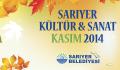 Kasım Ayı Kültür & Sanat Etkinlik Takvimi.