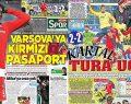Beşiktaş Turladı, manşetler böyle atıldı!