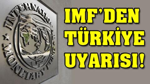 IMF'den tehlike sinyali