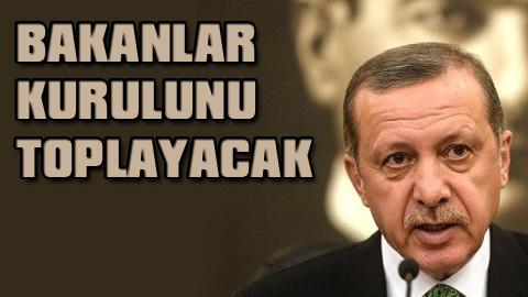 Erdoğan kabine için tarih verdi
