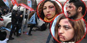 CHP'li Gençlere müdahale!