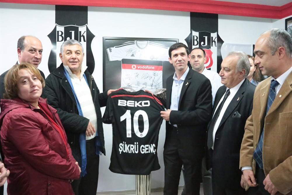Şükrü Genç'ten Beşiktaş Ziyareti!