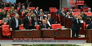 CHP'lilerden Davutoğlu protestosu