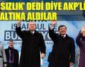 AKP'nin çok komik 'hırsızlık' paranoyası