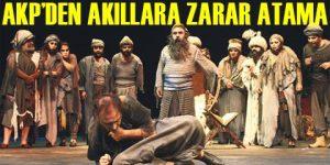 Şehir Tiyatroları güreş hakemine emanet