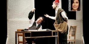 Sahnede üç şair, üç dünya