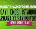 İstanbul Valiliği 'Kent Mitingi'ni yasakladı!