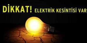Sarıyer'de elektirik kesintisi