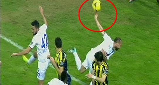 Çok tartışılan penaltı!