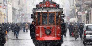 İstanbul'da kar alarmı.