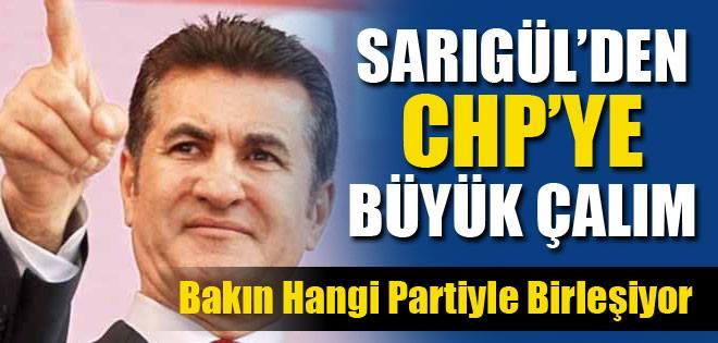 Mustafa Sarıgül'ün YDH'si o partiyle birleşiyor