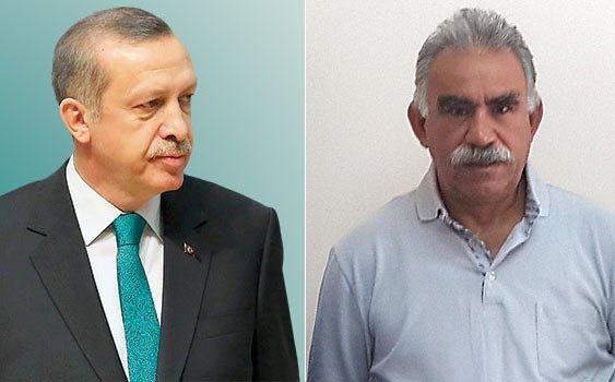 Erdoğan ile Öcalan yanyana…
