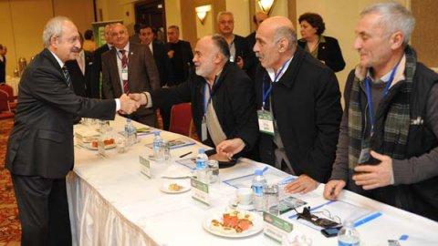CHP lideri çevrecilere söz verdi