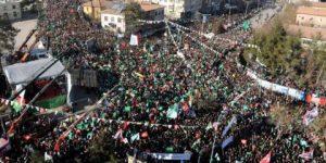 'Peygamber' bahanesiyle Hizbullah mitingi
