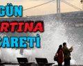 Marmara'da fırtına uyarısı.