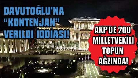 Davutoğlu'na Kontenjan!