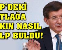 Davutoğlu fireleri böyle savundu