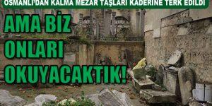 Yandaş vakıf tarihi mezarlığa bina kurdu