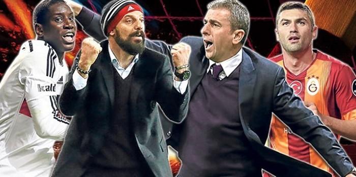 Beşiktaş-Galatasaray Muhtemel 11'ler.