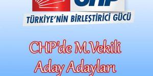 CHP'de Aday Adayları Netleşiyor.