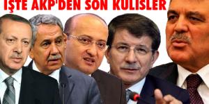 Davutoğlu ve Gül'e Erdoğan şoku
