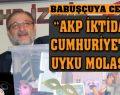 MHP'li Vural'dan 'şeffaflık paketi'!