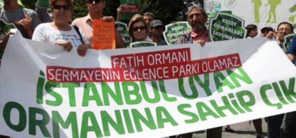Fatih Ormanı için 3 dilde basın açıklaması