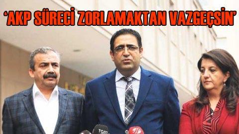 KCK'den AKP'ye sert 'süreç' mesajı