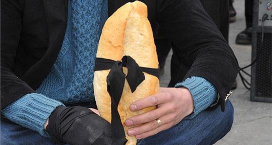 Ekmek tahrik edici bulundu!