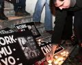 Taksim'de Charlie Hebdo saldırısı protestosu