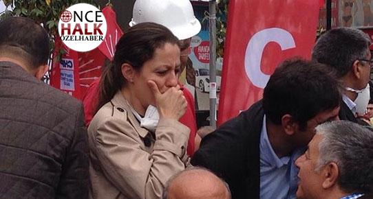 CHP'li başkan AKP'lilerle yürüdü vekilini yalnız bıraktı!