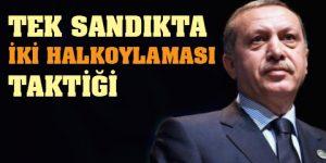 Erdoğan Evren'in yolunda