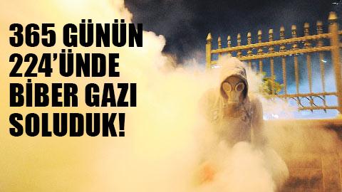 İşte Türkiye'nin biber gazı gerçeği