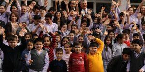 Başkan Genç'ten öğrencilere ziyaret!