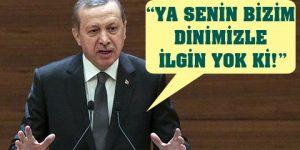 Erdoğan: Bu feministler filan var ya…