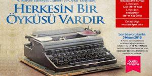 4. Sarıyer Edebiyat Günleri'nde öykü ödülü belli oldu.