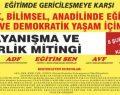 Laik, bilimsel, anadilinde eğitim için 8 Şubat'ta Kadıköy'e!